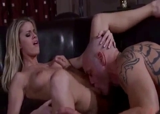 Blonde sister banging her big-dicked brother