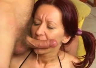 Screaming mommy gets ruined by a huge cock