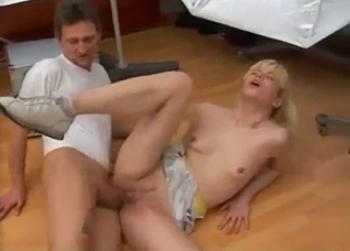 Close-up penetration in this amazing incest clip